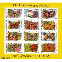مینی شیت پروانه ها - 2 - رومانی 1992