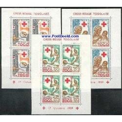 3 عدد سونیرشیت صلیب سرخ - توگو 1959