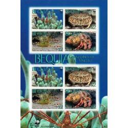 مینی شیت خرچنگها - WWF - سنت وینسنت 2010