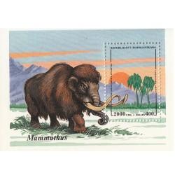 سونیرشیت جانداران ماقبل تاریخ - ماموتها - ماداگاسکار 1994