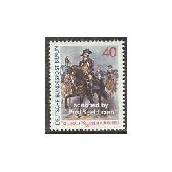 1 عدد تمبر فردریش ویلهلم فون استوبن - افسر ارتش - برلین آلمان 1980