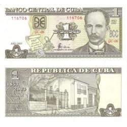 اسکناس 1 پزو - کوبا 2010