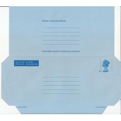 پاکت نامه هوائی 6  و نیم پنس  - آئروگرام ملکه الیزابت - انگلستان