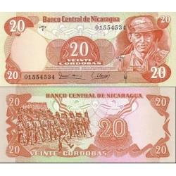 اسکناس 1000 کردوبا - نیکاراگوئه 1979
