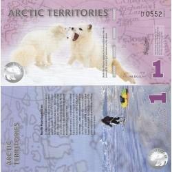 اسکناس 1 دلار - قطب شمال 2012