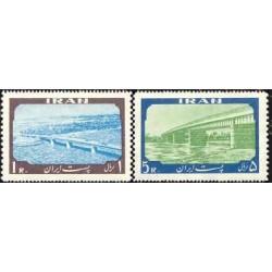 1096 - تمبر افتتاح پل خرمشهر  1338