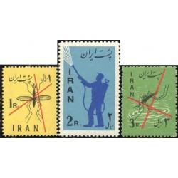 1098 - تمبر ریشه کنی مالاریا 1339