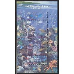 مینی شیت حیات دریائی - اندونزی 2002