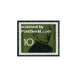1 عدد تمبر  ویلهلم امانوئل فون کتلر - ساستمدار - جمهوری فدرال آلمان 1961