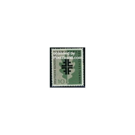 1 عدد تمبر ژیمناستیک - جمهوری فدرال آلمان 1958