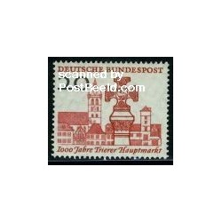 1 عدد تمبر بازار تریر - جمهوری فدرال آلمان 1958
