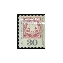 1 عدد تمبر روز کلکسیونرهای تمبر - جمهوری فدرال آلمان 1969