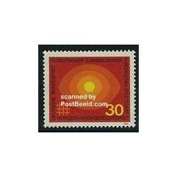 1 عدد تمبر روز پروتستان - جمهوری فدرال آلمان 1969