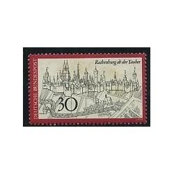 1 عدد تمبر  شهر روتنبرگ - جمهوری فدرال آلمان 1969