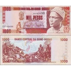 اسکناس 1000 پزو - گینه بیسائو 1993