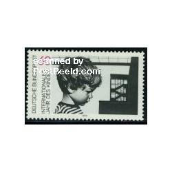 1 عدد تمبر سال بین المللی کودک - جمهوری فدرال آلمان 1979
