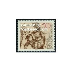 1 عدد تمبر مارتین بابر - فیلسوف یهودی - جمهوری فدرال آلمان 1978