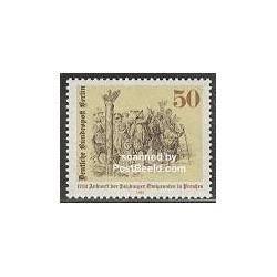 1 عدد تمبر مهاجرین سالزبورگ - برلین آلمان 1982