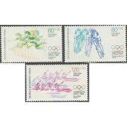 3 عدد تمبر بازیهای المپیک لوس آنجلس - برلین آلمان 1984