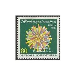 1 عدد تمبر نمایشگاه باغبانی - برلین آلمان 1985