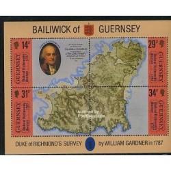سونیرشیت اولین نقشه - سیاحی دوک ریچموند - گورنزی 1987
