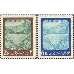 1149 - تمبر افتتاح سد امیرکبیر (کرج) 1341