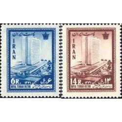 1180 - تمبر افتتاح هتل هیلتون - تهران 1341