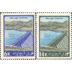 1198 - تمبر افتتاح سد همدان 1342