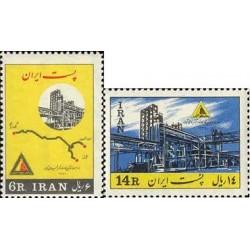 1208 - تمبر افتتاح کارخانه کود شیمیایی 1342