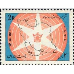 1265 - تمبر لوایح ششگانه (3) 1343