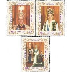 1424 - تمبر سالگرد تاجگذاری 1347