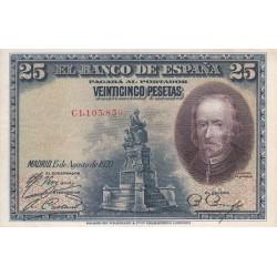 اسکناس 25 پزوتا - اسپانیا 1928 تک با کیفیت خوب
