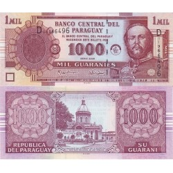 اسکناس 1000 گورانی - پاراگوئه 2005