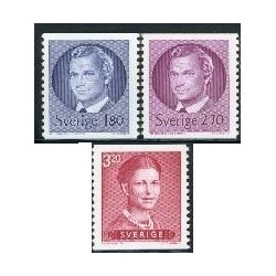 3 عدد تمبر سری پستی - سوئد 1983