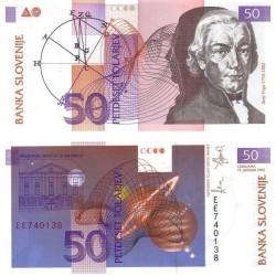 اسکناس 50 تولارجو - اسلوونی 1992