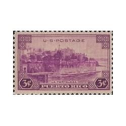 1 عدد تمبر مسائل قلمرو پورتوریکو - آمریکا 1937