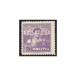 1 عدد تمبر خیریه - بولیوی 1939