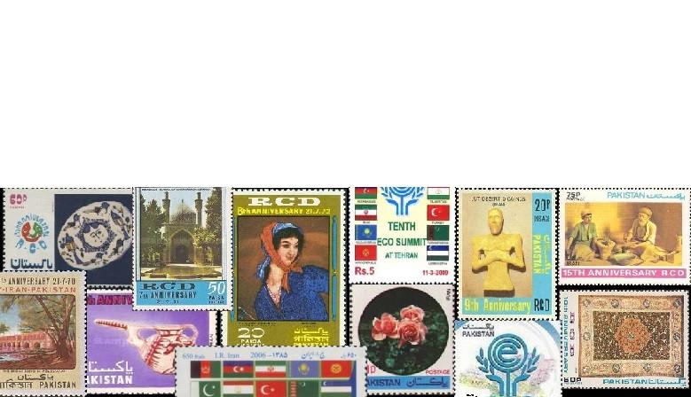 سری تمبرهای RCD پاکستان